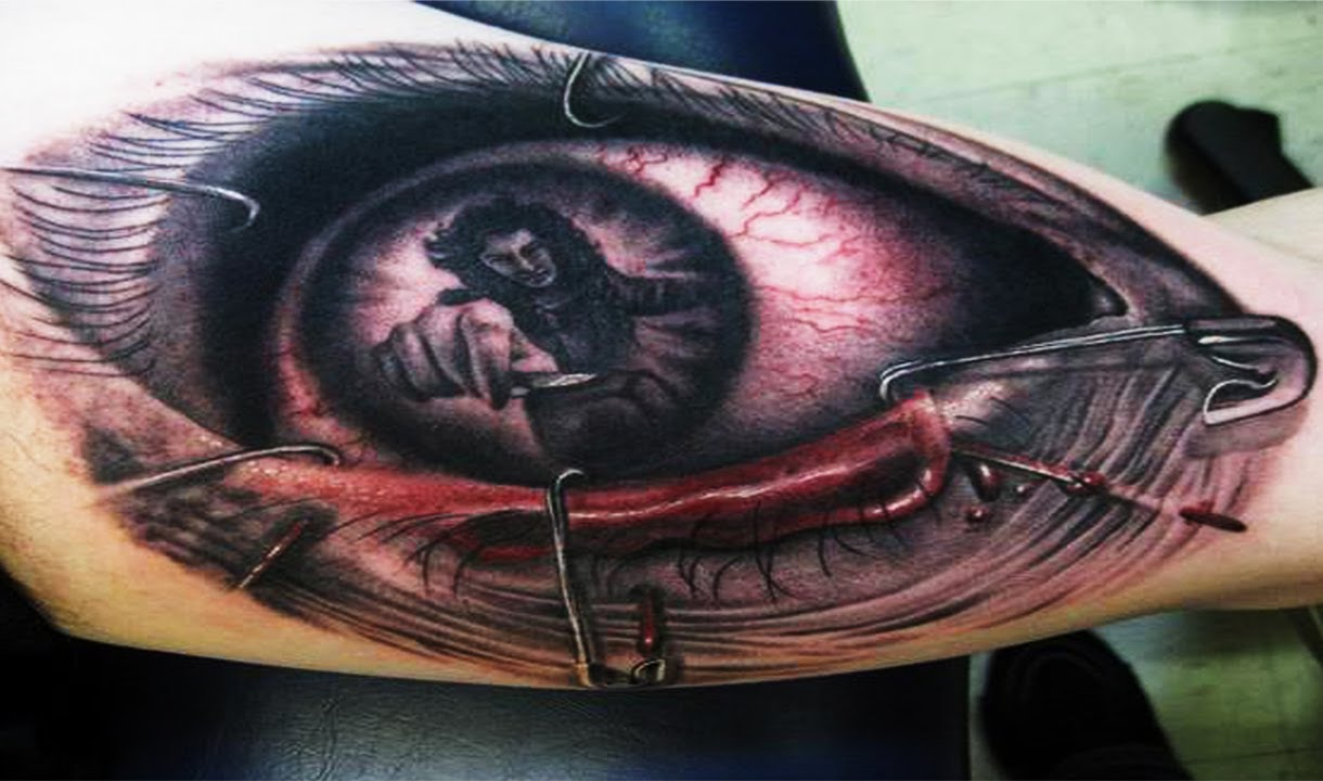 Best 3D Tattoos Eye 3D Tattoo Part 1 Compilation Hd Ideas And Designs