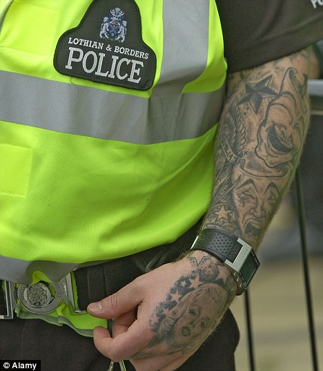 Police Leader We Need More Officers With Tattoos They Ideas And Designs