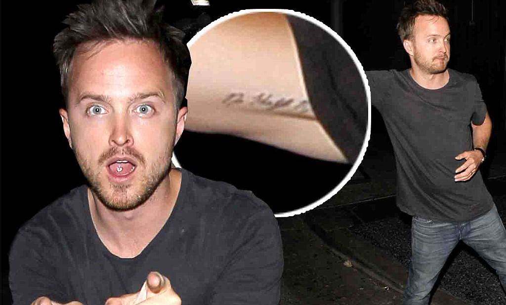 Aaron Paul Strikes A Silly Pose After A Night Of Partying Ideas And Designs