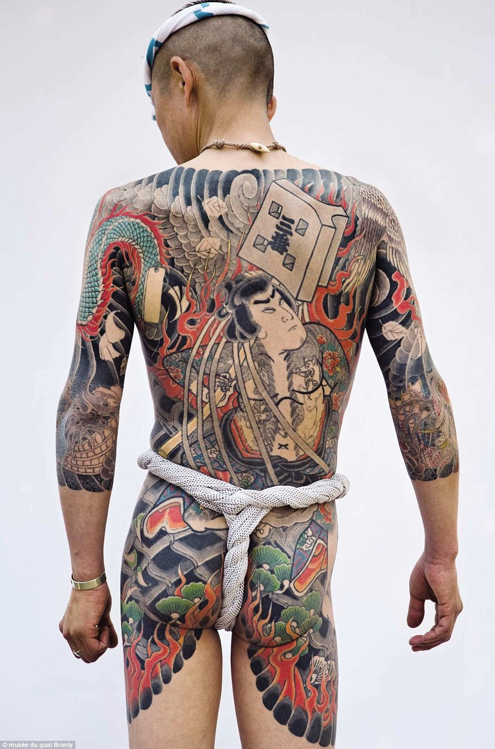 Paris Tattoo Exhibition Charts The History Of Body Art Ideas And Designs