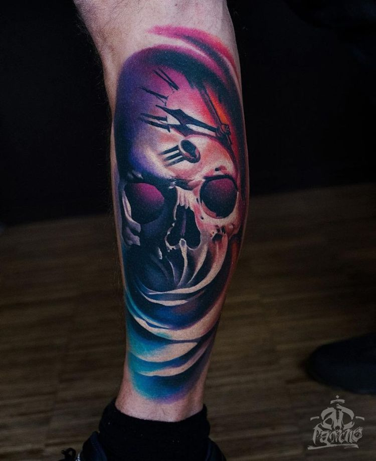 Painterly Colorful Tattoos By A D Pancho Kickass Things Ideas And Designs