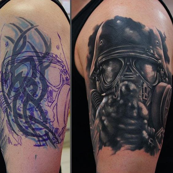 60 Amazing Cover Up Tattoos Pictures Before And After You Ideas And Designs