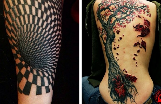 63 3D Tattoos That Are So Cool You Need A Jacket To Watch Ideas And Designs