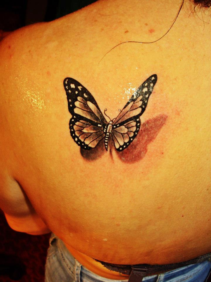 3D Butterfly Tattoos – Page 2 – Truetattoos Ideas And Designs