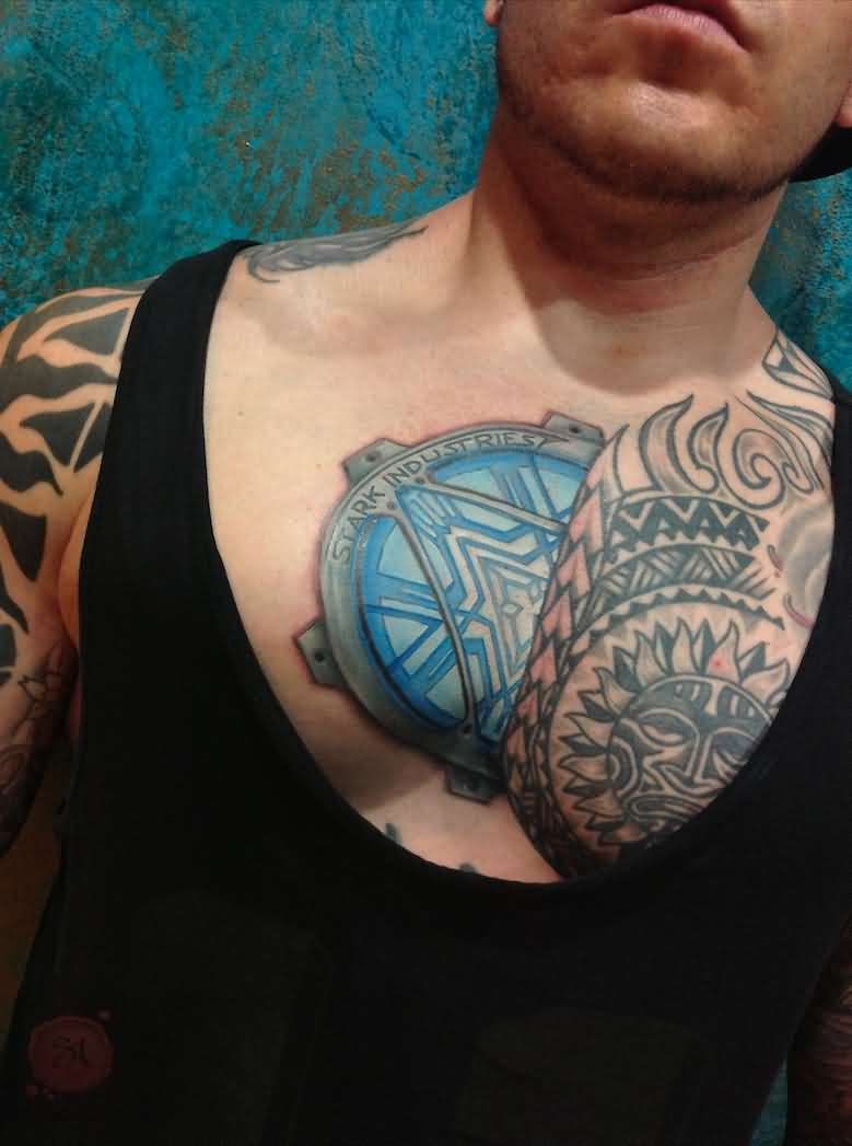 Raone 3D Chest Tattoo Symbol For Men – Truetattoos Ideas And Designs