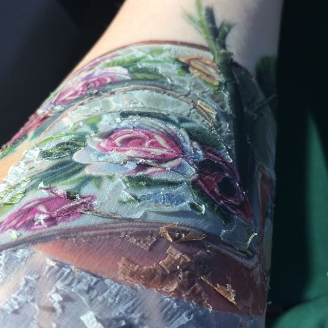 Tattoo Scabbing – Is It Normal Authoritytattoo Ideas And Designs