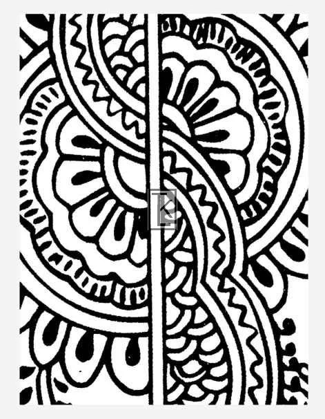 Items Similar To Clear Stamp Henna Tattoo Style 10 3 Ideas And Designs Original 1024 x 768