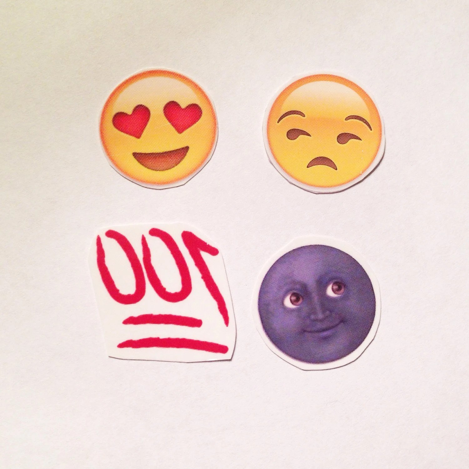 Emoji Temporary Tattoos By Twolamegirls On Etsy Ideas And Designs