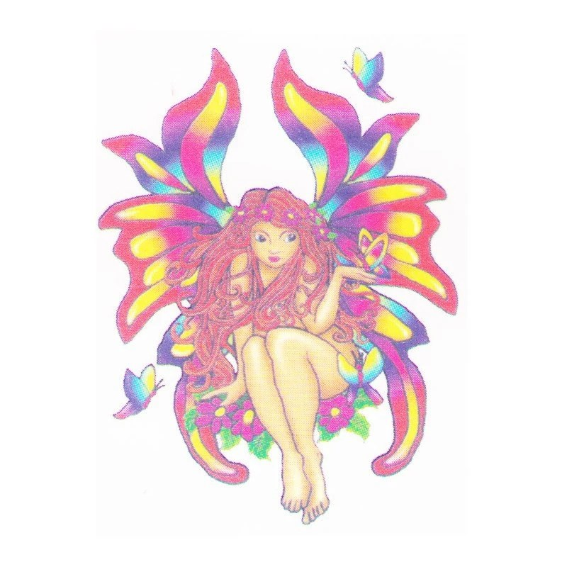 Fairy Temporary Tattoo Design 2X2 Inch Ideas And Designs
