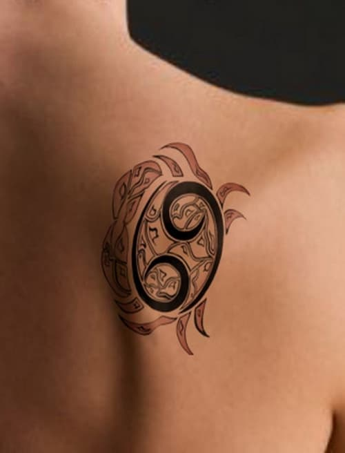Cancer Sign Tattoo Ideas Ranked By Astrology L*V*Rs Ideas And Designs