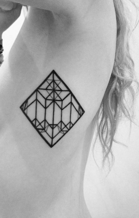 Attractively Angular Geometric Tattoos 75 Pics Ideas And Designs