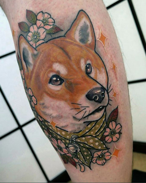 The Ultimate Guide To Shiba Inu Tattoos My First Shiba Inu Ideas And Designs