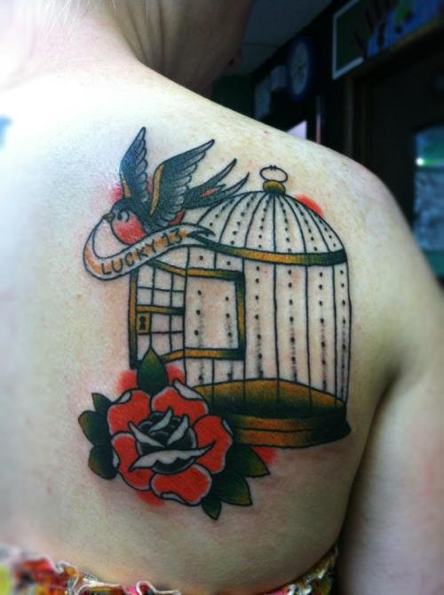 Bird Cage Tattoo On Tumblr Ideas And Designs