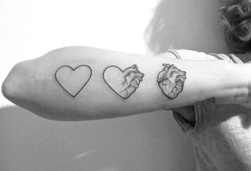 Real Heart Tattoo Tumblr Ideas And Designs