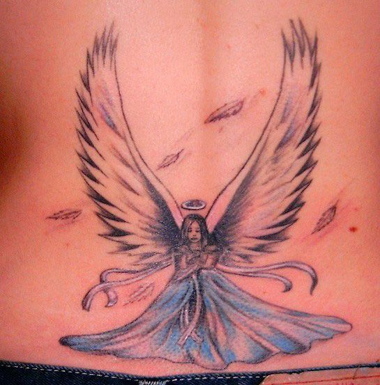 Angel Tattoos Flash Foot Tattoos Design Ideas And Designs