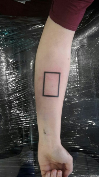 Rectangle Tattoo Tumblr Ideas And Designs