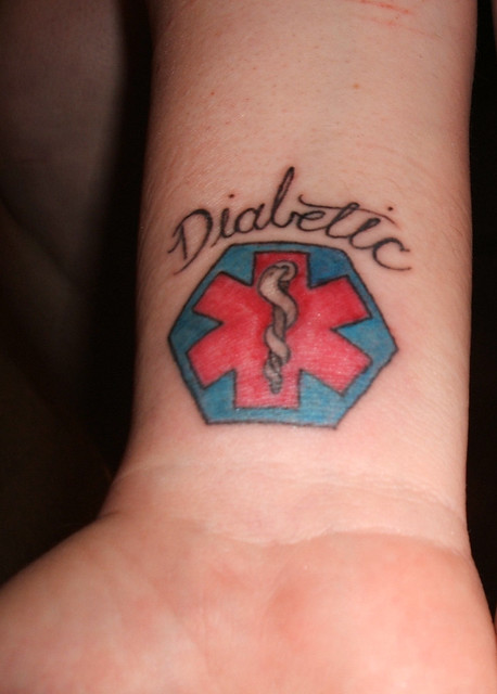 Wrist Ink Diabetes 365 Day 1 Flickr Photo Sharing Ideas And Designs