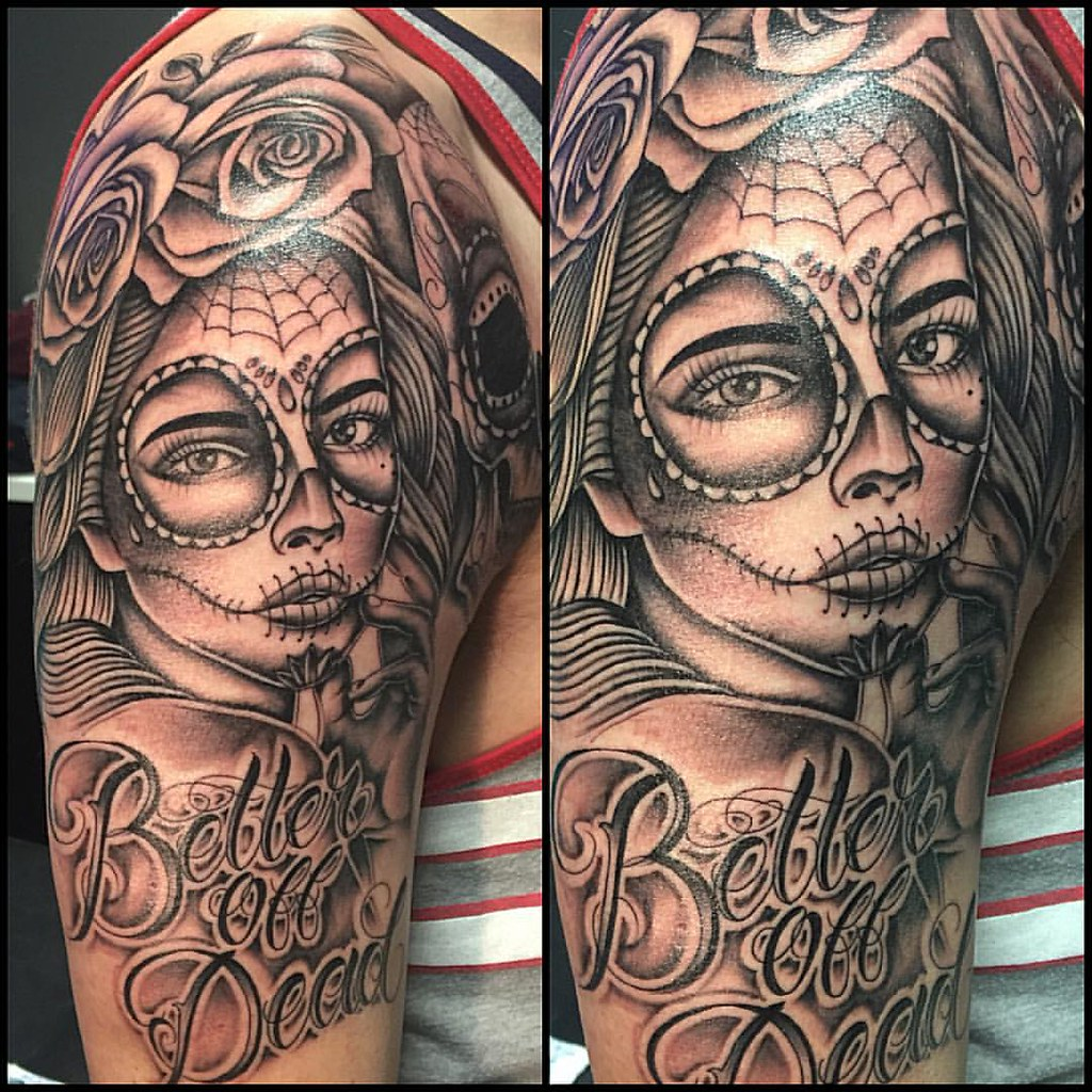 Better Off Dead Start Of A Sleeve Tattoo Tattoos Tha Ideas And Designs