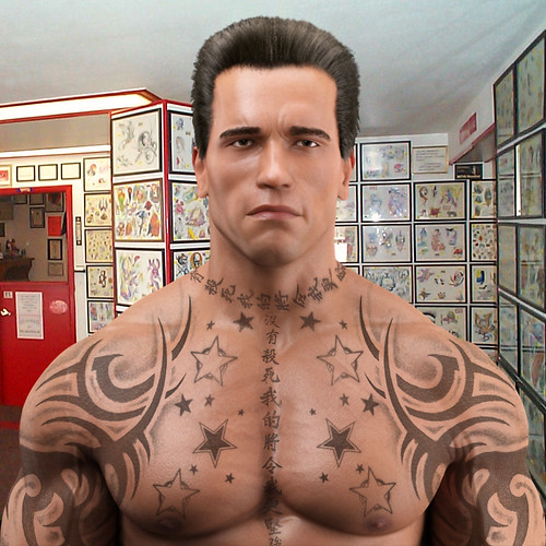 Arnold 3D Tattoo Robert Bogdany Facebook Artist Bobby Ideas And Designs