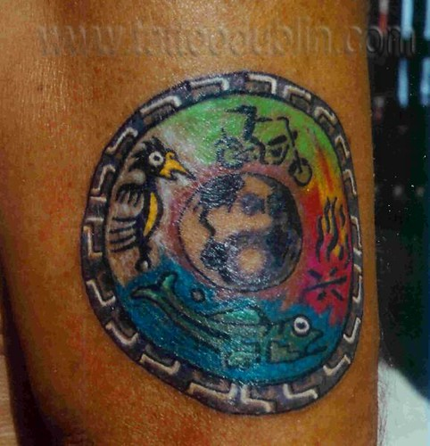 Four Elements Tattoo Four Elements Earth Wind Fire Water Ideas And Designs