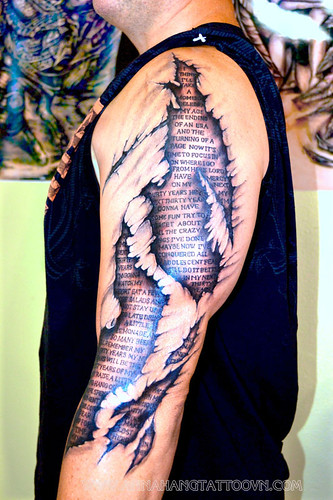 3D Tattoo With The Lyrics My Next 30 Years By Tim Mcgra Ideas And Designs