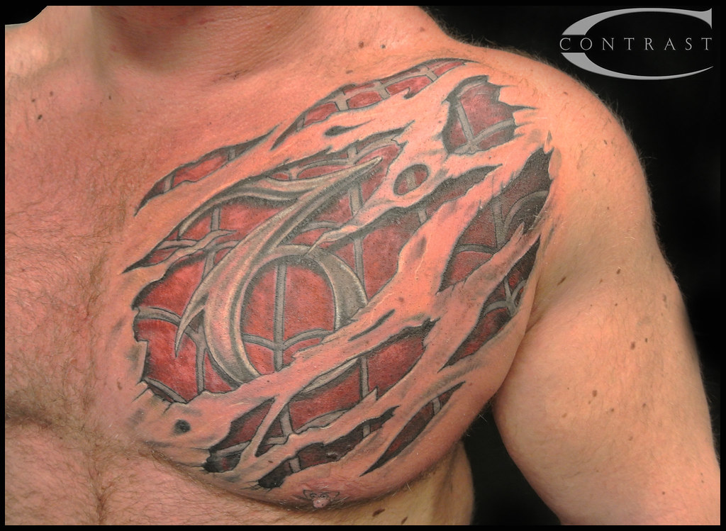Spiderman Tattoo Ripped Tattoo Stamp Tattoo 3D Tattoo Ideas And Designs