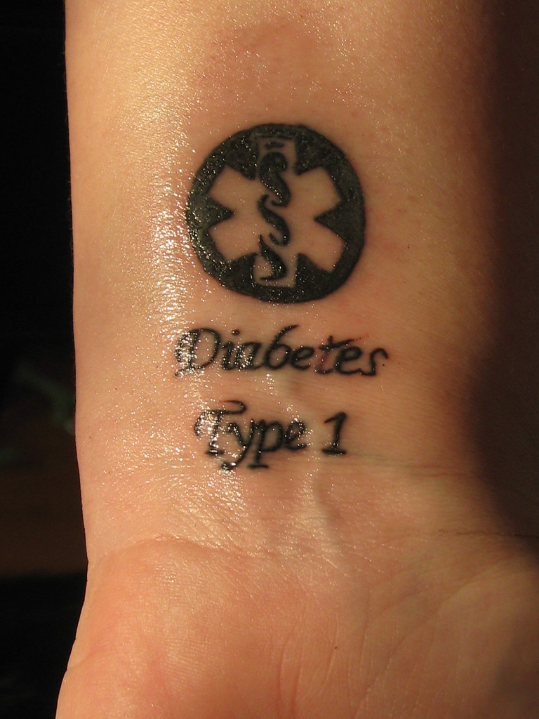 Diabetes Tattoo March 18 2009 Diane Flickr Ideas And Designs