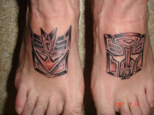 Transformers Tattoo 41250 Skybambi Ideas And Designs