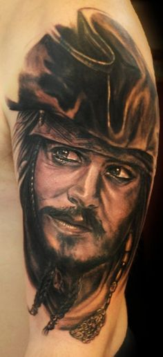 Jack Sparrow Tattoos On Pinterest Sailor Jerry Sailor Ideas And Designs