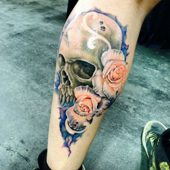 Skulls And Roses Studios And Tattoo Studio On Pinterest Ideas And Designs