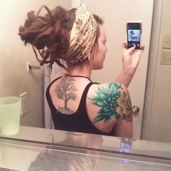 Succulents Cap D Agde And Cap Sleeve Tattoos On Pinterest Ideas And Designs