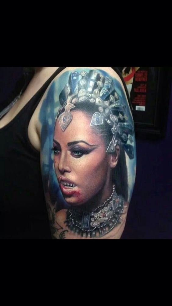 Aaliyah As Akasha Queen Of The D*Mn*D Tattoo Ideas Ideas And Designs