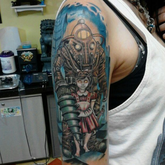Bioshock And Tattoos And Body Art On Pinterest Ideas And Designs
