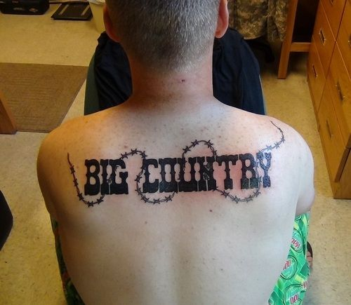 Country Tattoos Big Country – Tattoo Picture At Ideas And Designs