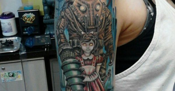 Bioshock Tattoo Tatspo Pinterest Bioshock Tattoo Ideas And Designs