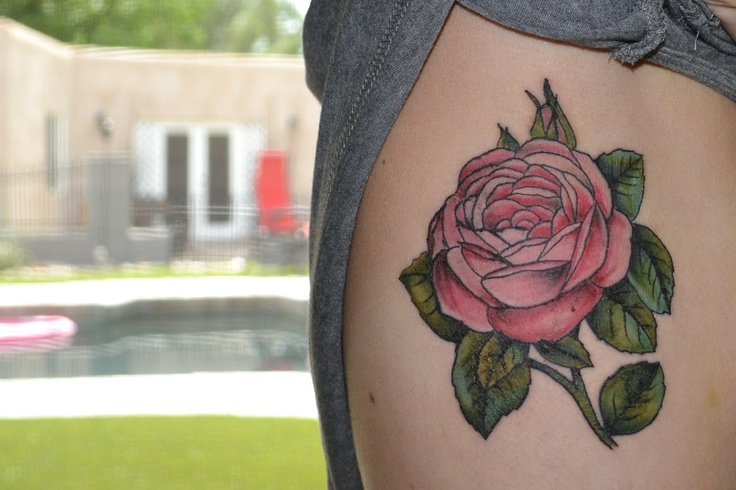 1000 Ideas About Pink Rose Tattoos On Pinterest Rose Ideas And Designs