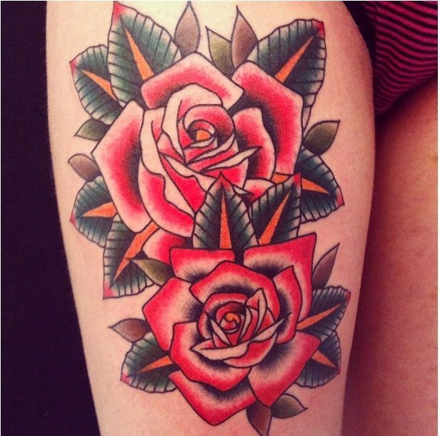 17 Best Ideas About Old School Tattoo Rose On Pinterest Ideas And Designs