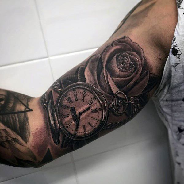 200 Popular Pocket Watch Tattoo And Meanings 2017 Ideas And Designs