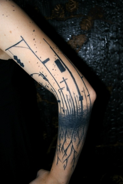 Cool Abstract Tattoos Joy Studio Design Gallery Best Ideas And Designs