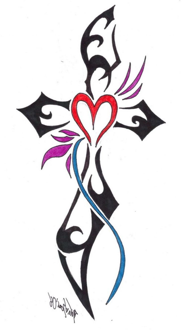 1000 Ideas About Cross Tattoo Designs On Pinterest Ideas And Designs