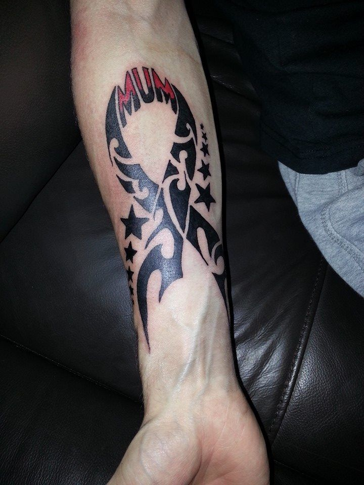 Tribal Cancer Ribbon Cancer Tattoos Pinterest Ideas And Designs