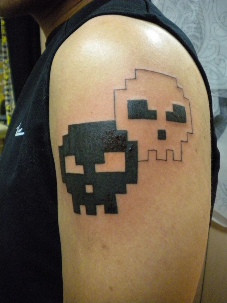 1000 Images About 8 Bit Tattoos On Pinterest Ideas And Designs