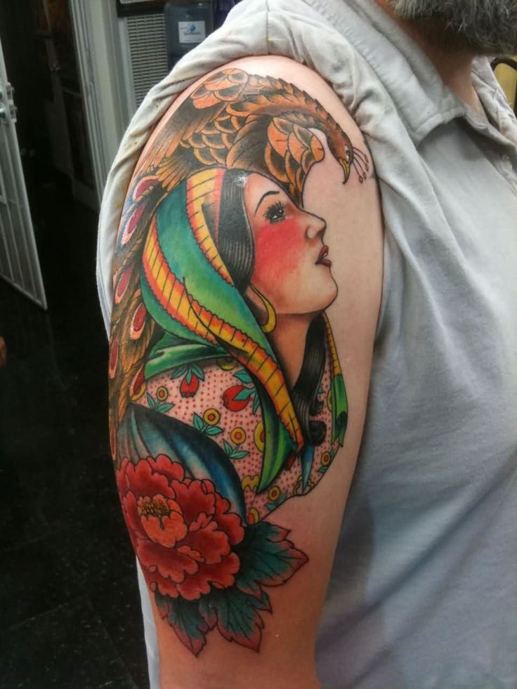 25 Best Ideas About Traditional Gypsy Tattoos On Ideas And Designs