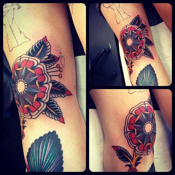 17 Best Images About Knee Tattoos On Pinterest Thigh Ideas And Designs