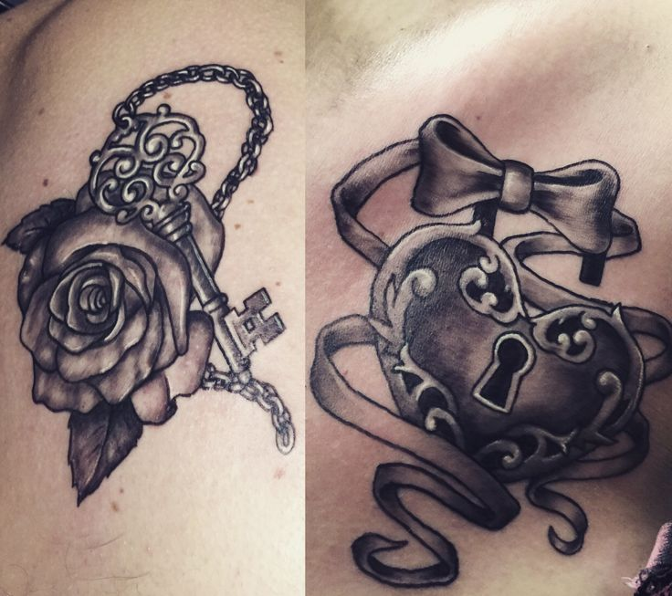 Lock And Key ️ Tattoo Ideas And Designs