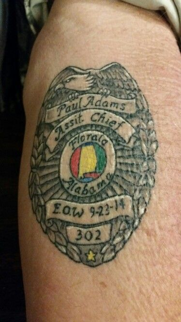 66 Best Images About Law Enforcement Tattoos On Pinterest Ideas And Designs