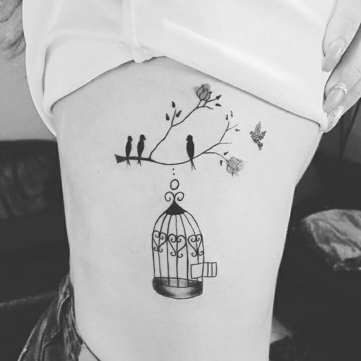 25 Best Cage Tattoos Ideas On Pinterest Bird Cage Ideas And Designs