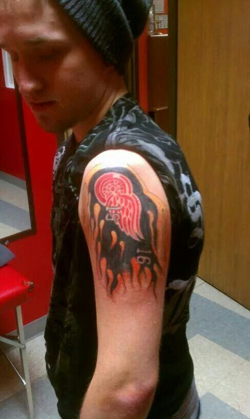 19 Best Images About Red Wings Tattoos On Pinterest The Ideas And Designs