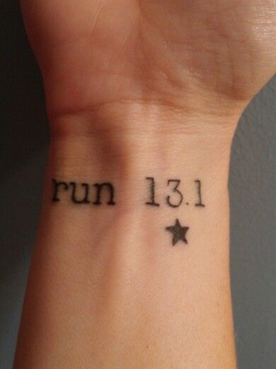 25 Best Ideas About Marathon Tattoo On Pinterest Half Ideas And Designs