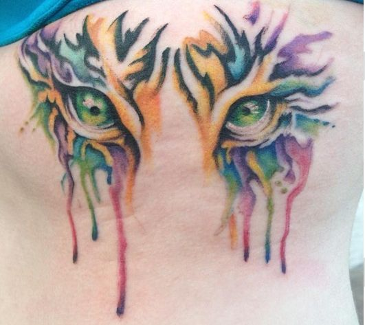 25 Best Ideas About Tiger Eyes Tattoo On Pinterest Ideas And Designs